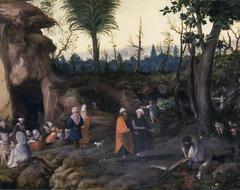 Landscape with nomads