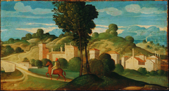 Landscape with Rider