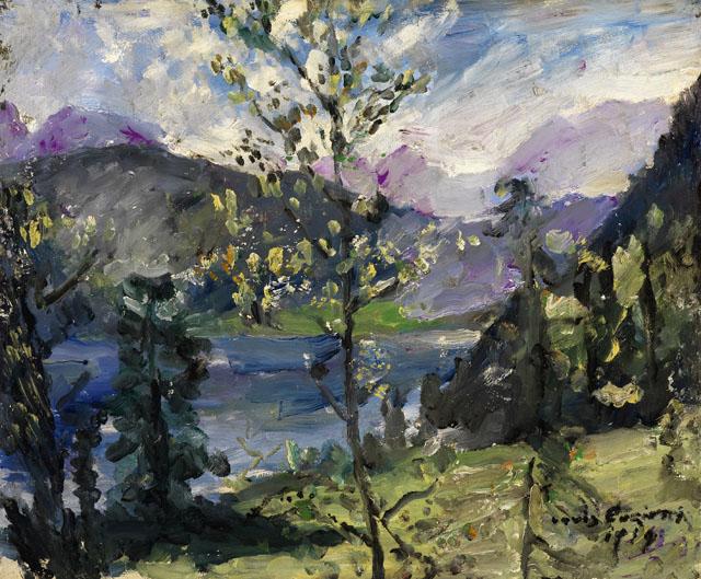 Landschaft am Walchensee