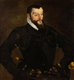 Lazarus von Schwendi (1522-1584) im Harnisch, Kniestück