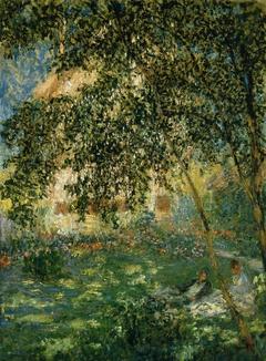 Le repos dans le jardin, Argenteuil