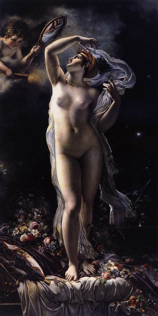 Mademoiselle Lange as Venus