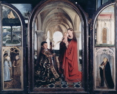Madonna and Child with a Donor