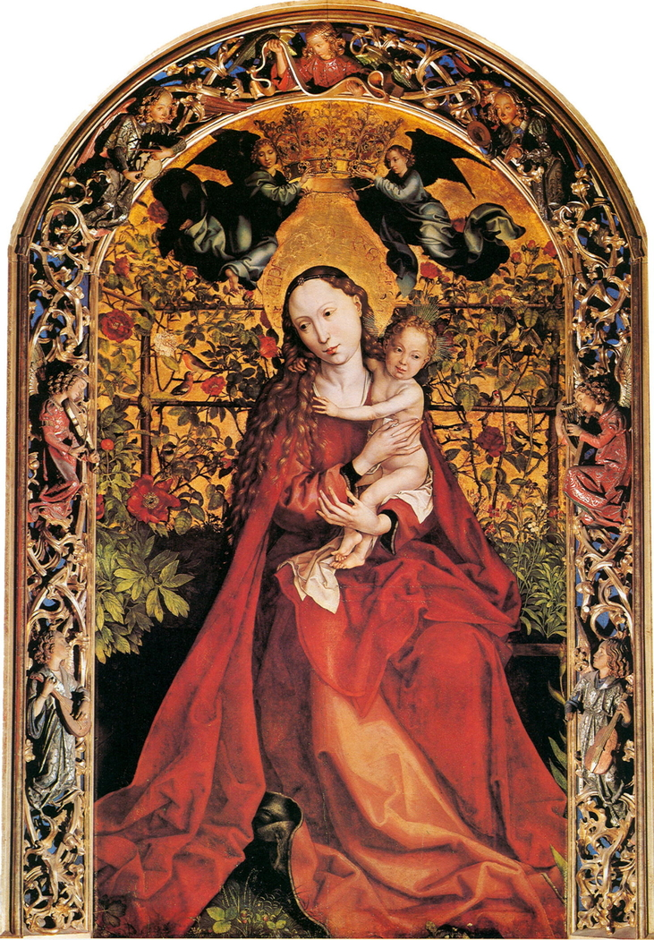 Madonna of the Rose Garden