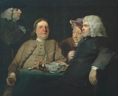 Mr Oldham and his Guests