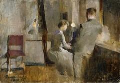 Music, Interior from Paris