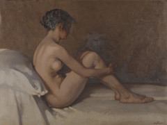 Naaktstudie Jeanne Freeken