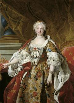Official portrait of Queen Isabel de Farnesio
