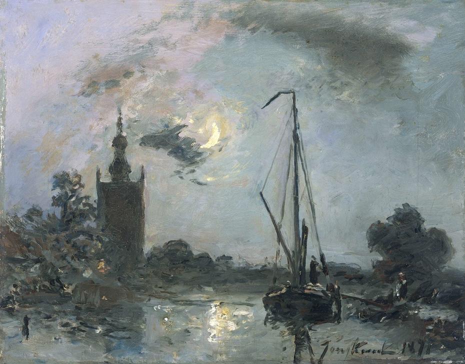 Overschie in the Moonlight