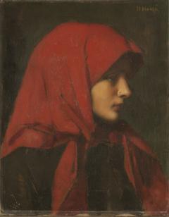 Paysanne (Femme capuchon rouge) (Paisana)