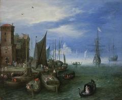 Port Scene in Venice