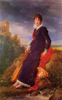 Portrait de Catherine Starzeńska
