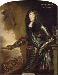 Portrait de Louis II, prince de Bourbon, surnommé le Grand Condé