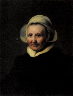 Portrait of a 62-year-old-woman