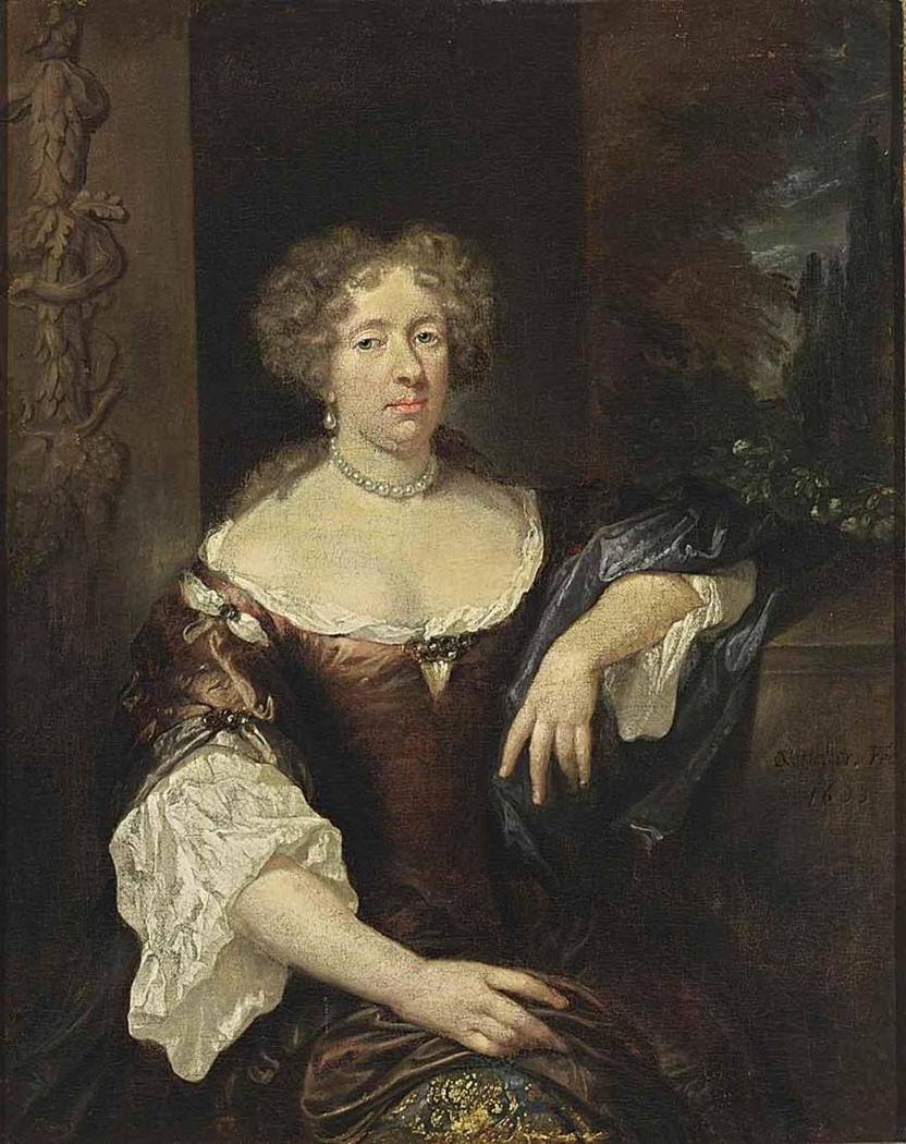 Portrait of a Lady in a Pearl Necklace