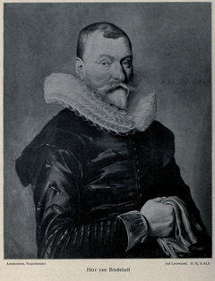 Portrait of a Man, named Bredehoff