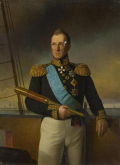 Portrait of Admiral Alexei Greig