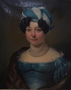 Portrait of Clara Elisabeth Helmich (1783-1837), wife of Jacobus Petrus Yvo Diert van Melissant (1774-1847)