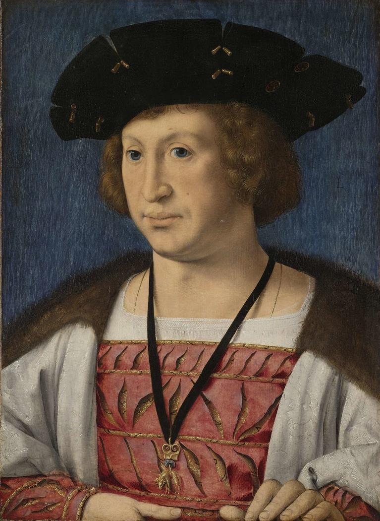 Portrait of Floris van Egmond, Count of Buren en Leerdam