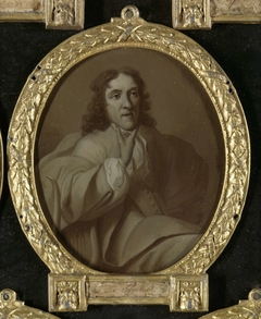 Portrait of Frans de Haes, Poet and Linguist in Rotterdam