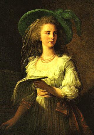 Portrait of Gabrielle de Polastron