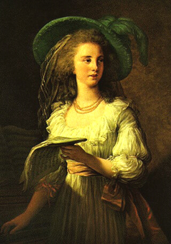 Portrait of Gabrielle de Polastron