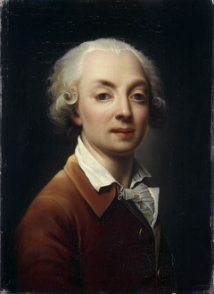 Portrait of Gagneraux by himself