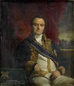 Portrait of Léonard Pierre Joseph, Viscount du Bus de Gisignies, Commissioner-General