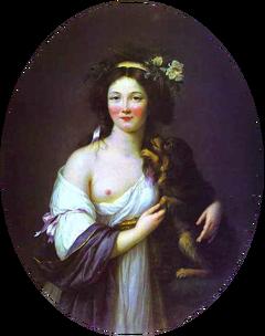 Portrait of Madame d'Aguesseau