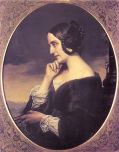 Portrait of Marie de Flavigny, comtesse d'Agoult