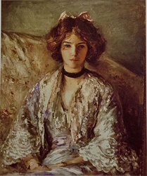 Portrait of Miss Ethel Warwick