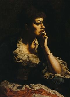 Portrait of Mrs. Eastman Johnson
