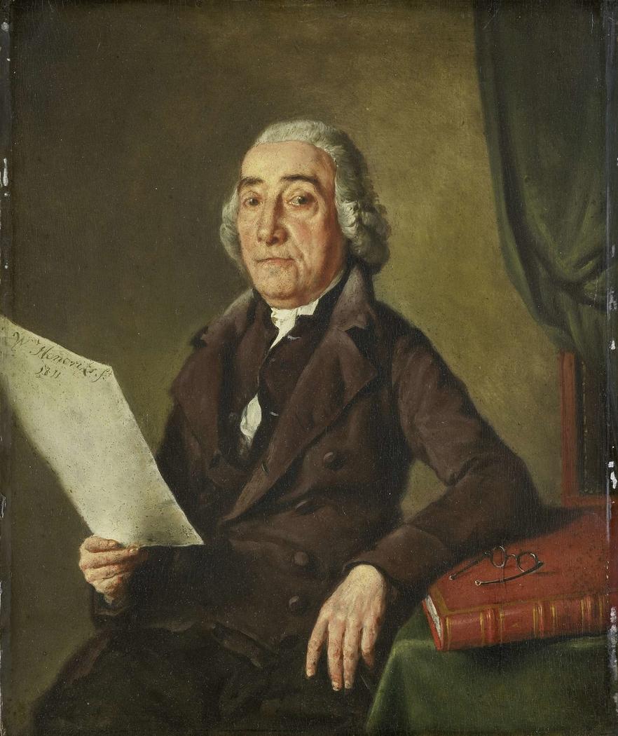 Portrait of the Amsterdam Art Collector Jacob de Vos Senior