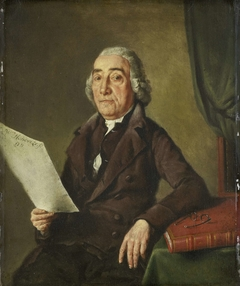 Portrait of the Amsterdam Art Collector Jacob de Vos Senior
