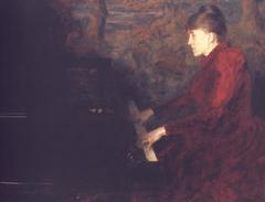 Portrait of the Pianist Erika Nissen