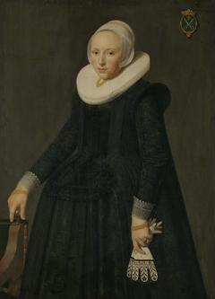 Portrait of Trijntje Tijsdr van Nooij, Wife of Reinier Ottsz Hinloopen (Tryntgen Tysdr. van Nooy)