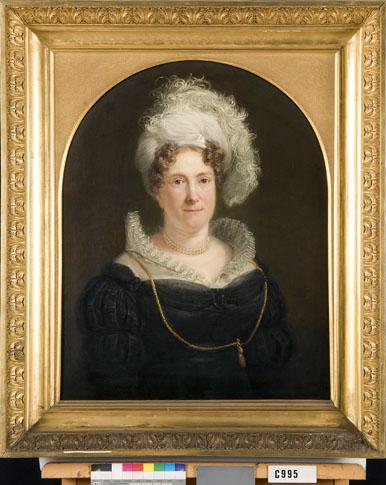 Portret van een vrouw, mogelijk Hendrika Wilhelmina Duvergé