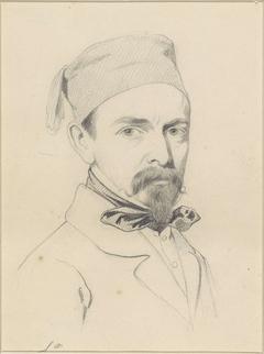 Portret van Johan Hilverdink