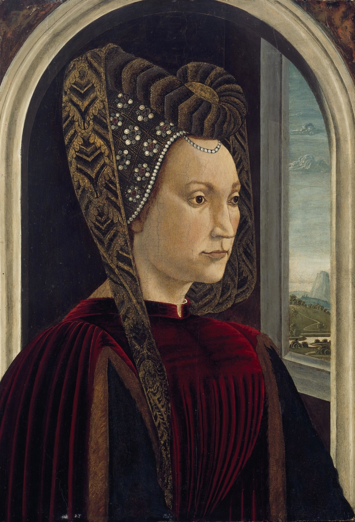 Presumed Portrait of Clarice Orsini, Wife of Lorenzo the Magnificent