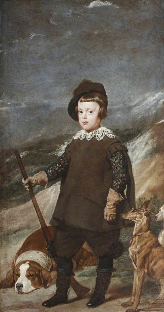 Prince Baltasar Carlos (1629-1646), aged 6, as a Hunter