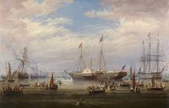 Queen Victoria's Arrival in Cork Harbour, 3 August 1849.