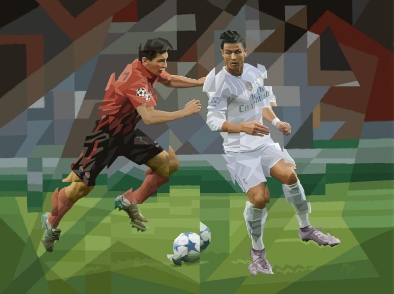 """""""Ronaldo2"""" (serie: Tacos de Acero)"""