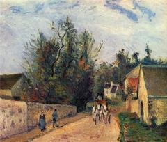 Rue de l'Hermitage near Ennery, Pontoise