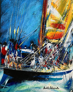 """Sailing"" year of creation 2020"