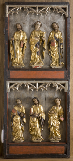 Saint Apostles (reverse: Our Lady of Sorrows). The right panel of the retable from Stary Żywiec