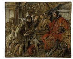Saint Ives receiving Supplicants