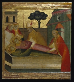 ''Saint Lawrence Buried in Saint Stephen's Tomb''