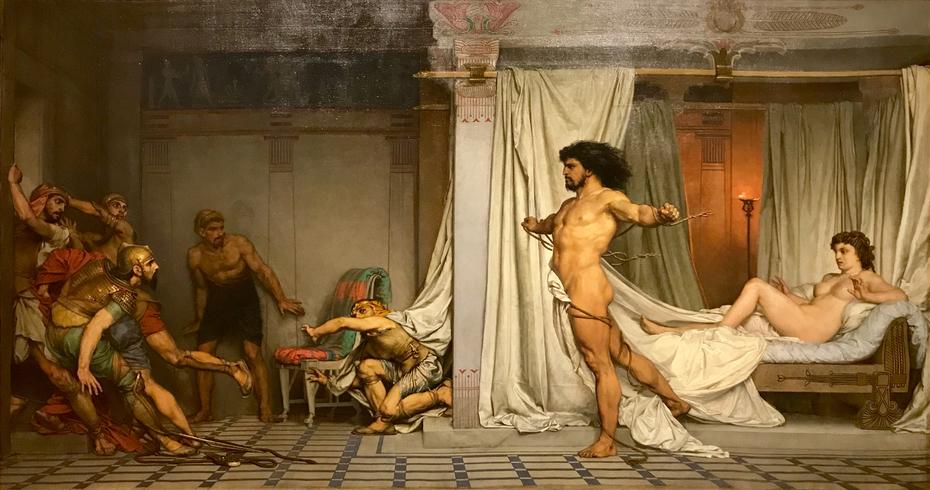 Samson déchirant ses liens