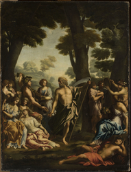 Saturn and muses