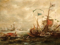 Spanish engagement with Barbary pirates